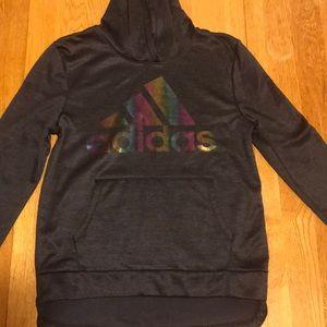 Girls size 14 Adidas hoodie